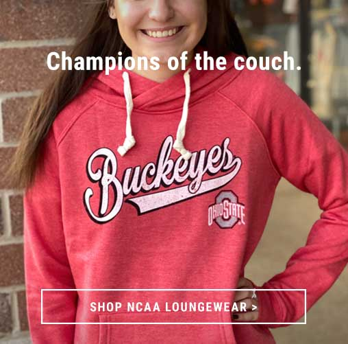 Shop NCAA Loungewear From Your Couch!