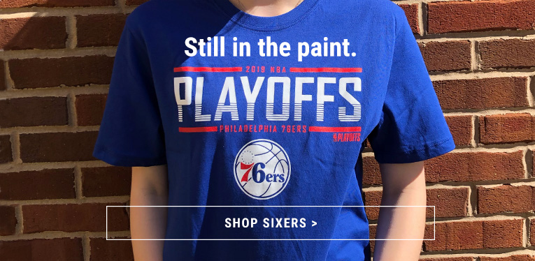 Shop Sixers 2019 Playoffs Apparel