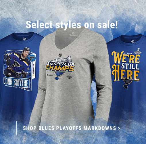 Shop Official Blues 2019 Stanley Cup Championship Markdowns