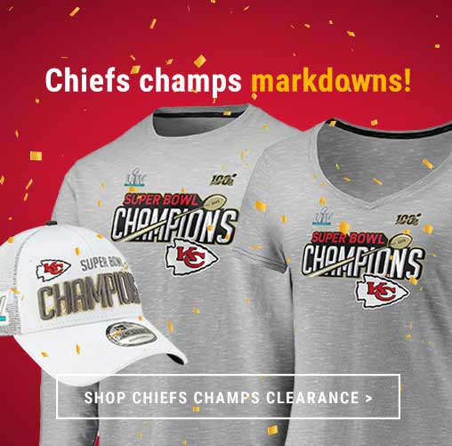 Shop Chiefs Champs Marked Down Merch