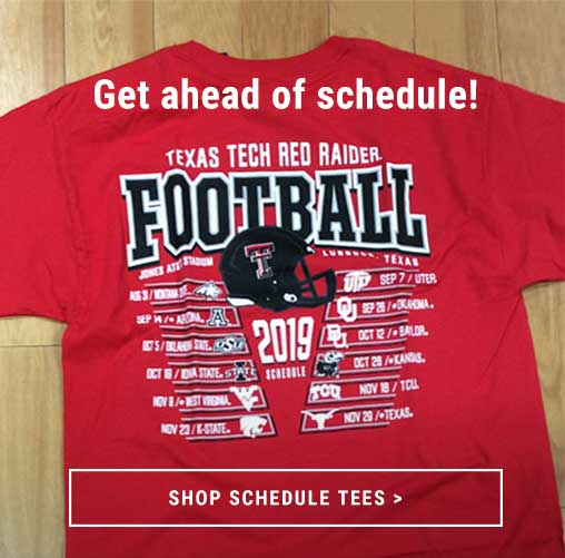 Shop NCAA Schedule Tees