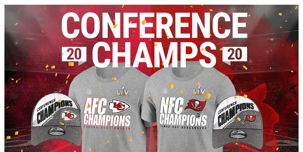 NFL Chiefs Buccanners AFC NFC Champions
