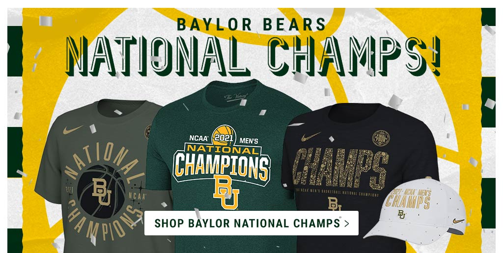 Shop Baylor Bears NCAA National Champs