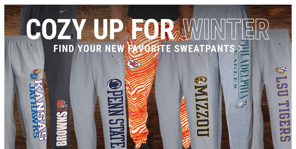 College & Pro Sweatpants - Cozy Up For The Winter