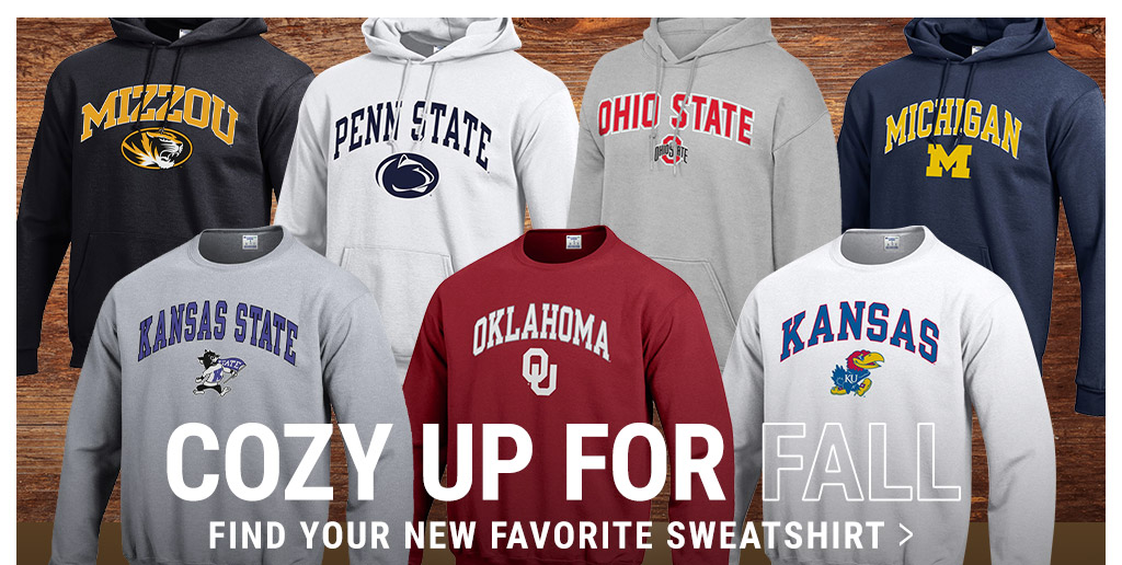 NCAA Sweatshirts - Cozy up for Fall