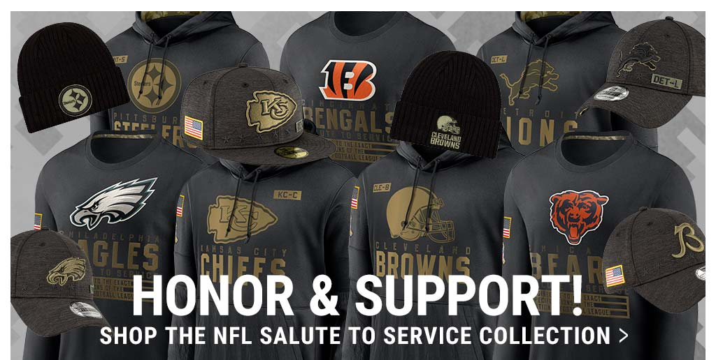 Shop 2020 NFL Salute To Service Collection