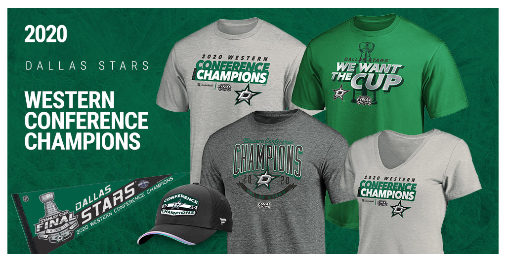 Shop Dallas Stars 2020 Western Conference Champs