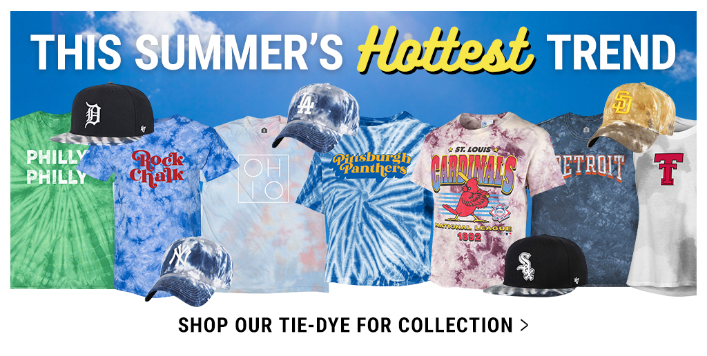 Shop Our Tie-Dye For Tie-Dye Collection