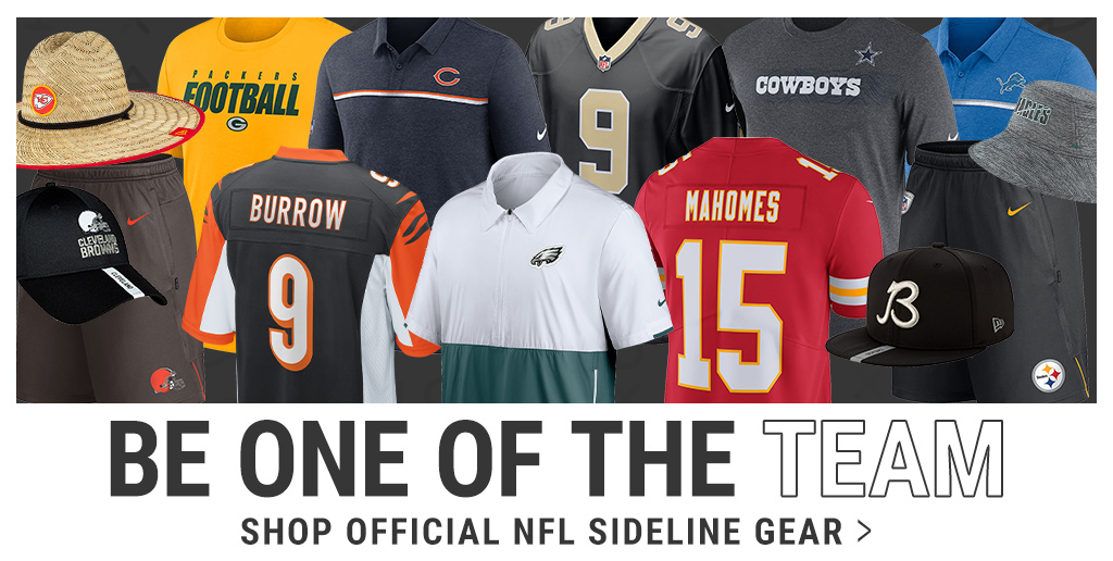 Shop Official NFL Sideline Gear