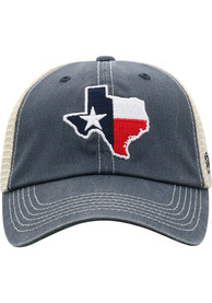 Texas Top of the World Dirty Mesh Adjustable Hat - Grey
