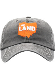 Cleveland Top of the World Heavy Adjustable Hat - Charcoal