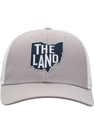 Cleveland High Rise Meshback Adjustable Hat - Grey