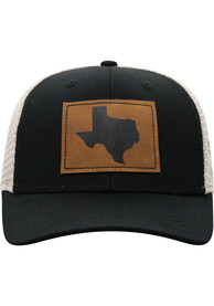 Texas Top of the World Precise Meshback Adjustable Hat - Black