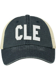 Cleveland Raggs Meshback Adjustable Hat - Navy Blue