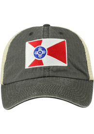 Wichita Raggs Meshback Adjustable Hat - Charcoal