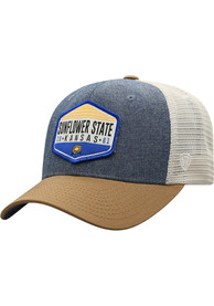 Kansas Top of the World Wild Adjustable Hat - Grey