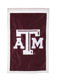 Texas A&M Aggies 28x44 Maroon Applique Sleeve Banner