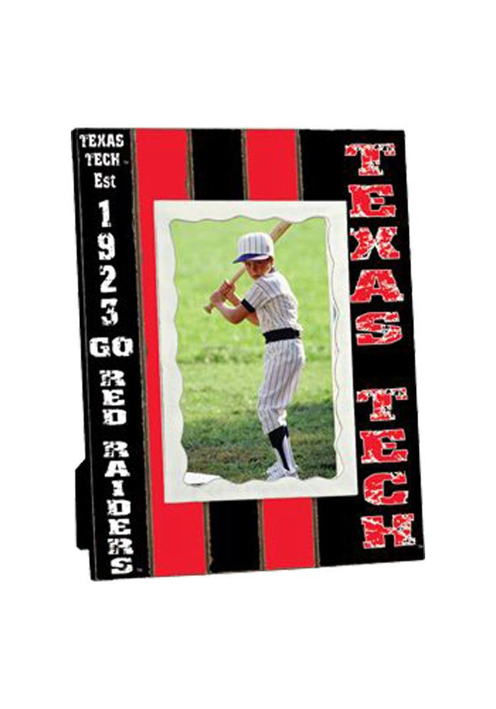 Texas Tech Red Raiders Stripped Picture Frame - Image 1