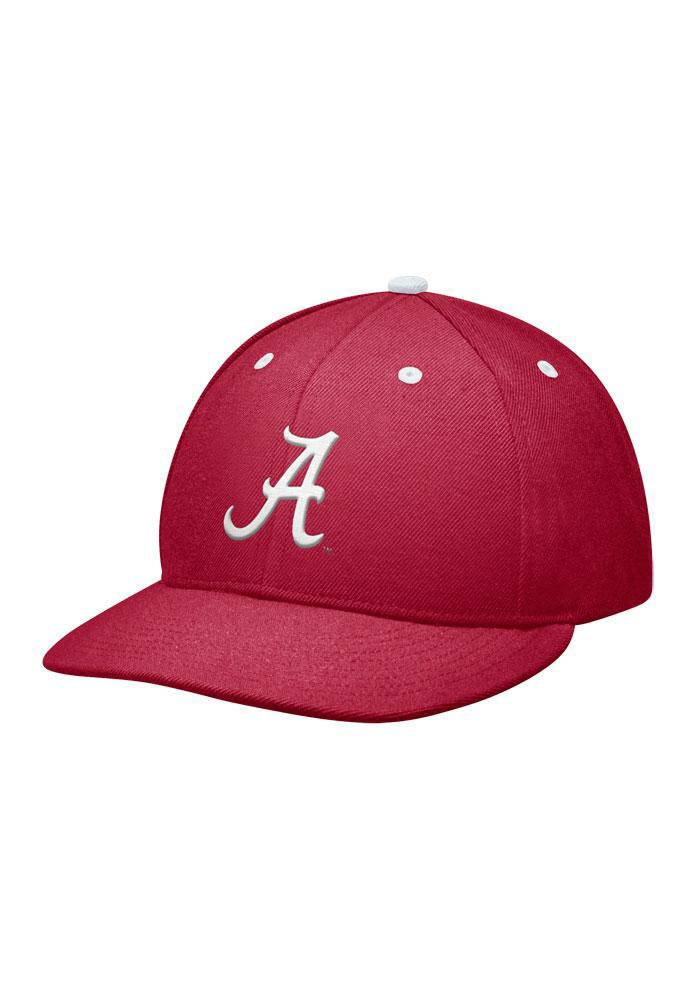 Nike Alabama Crimson Tide Mens Crimson Fitted Hat - Image 1