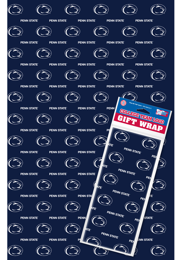Penn State Nittany Lions Team Logo Wrapping Paper - Image 1