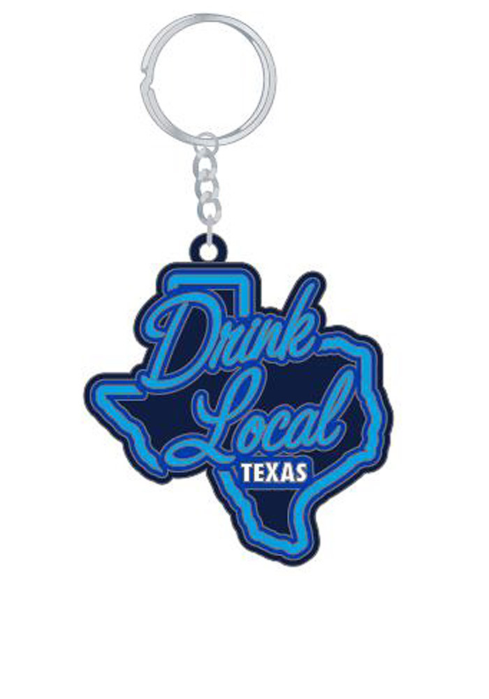 Drink Local Texas Keychain - Image 1
