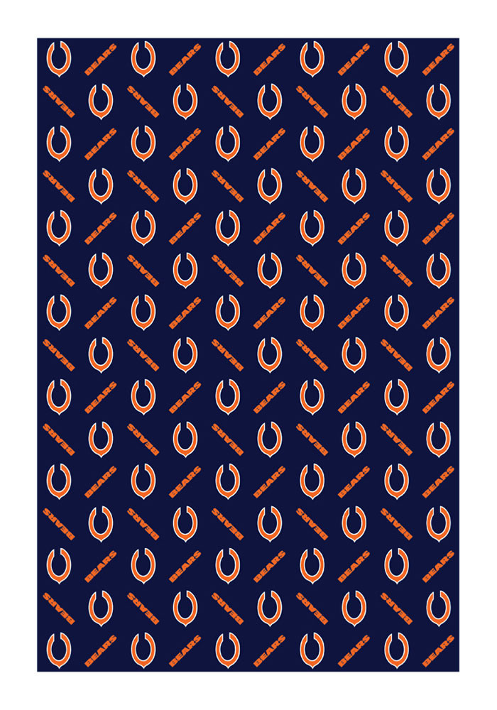 Chicago Bears Team Logo Wrapping Paper - Image 1