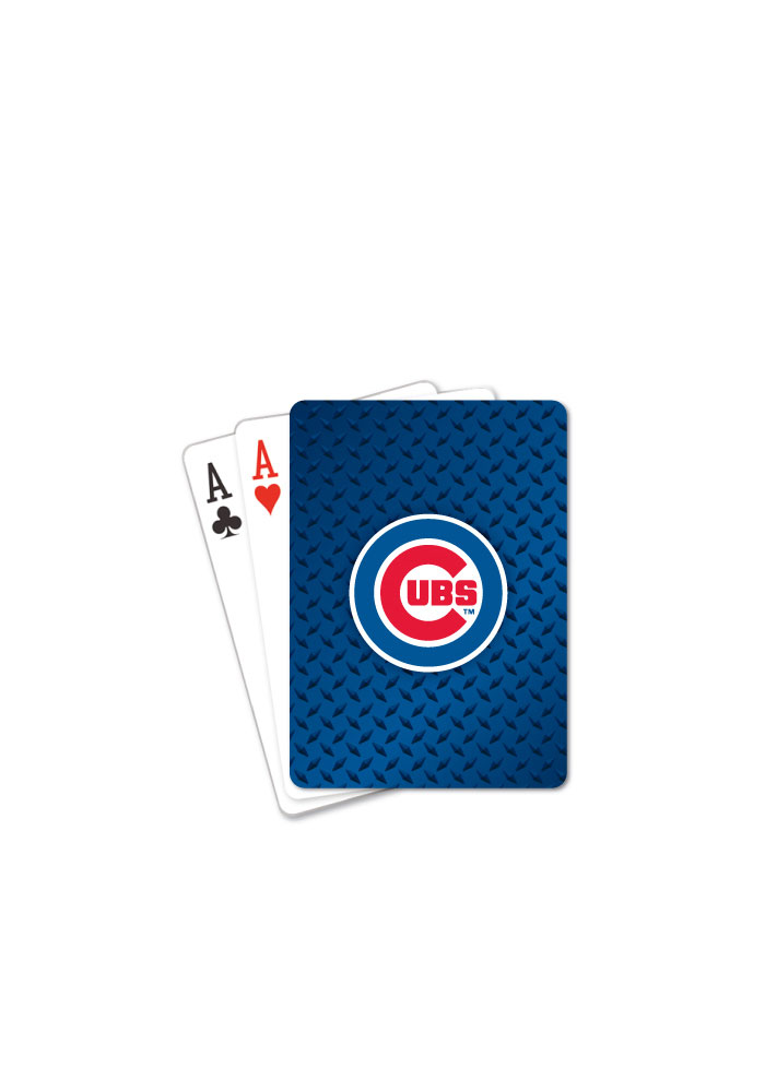 Chicago Cubs Team Logo Playing Cards - Image 1