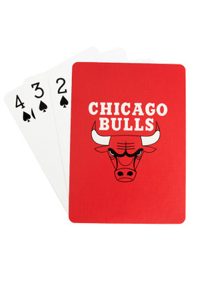 Chicago Bulls Team Logo Playing Cards