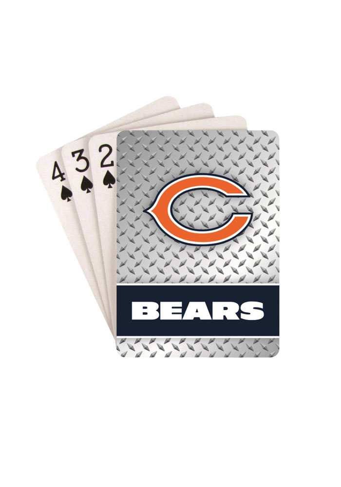 Chicago Bears Team Logo Playing Cards - Image 1