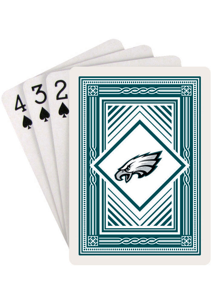 Philadelphia Eagles Classic Playing Cards - Image 1