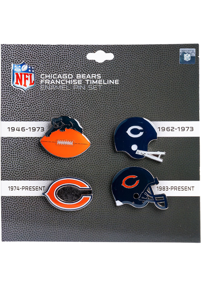 Chicago Bears Souvenir Timeline Pin - Image 1