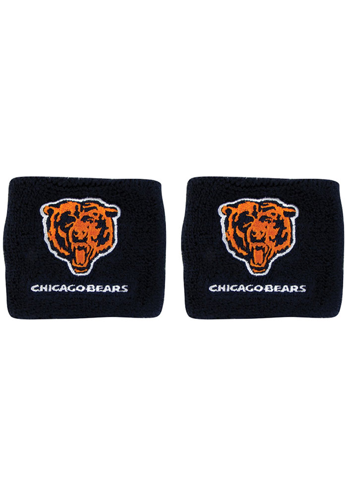 Chicago Bears Logo Mens Wristband - Image 1