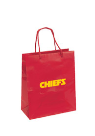 Kansas City Chiefs 10x12 Medium Red Gift Bag
