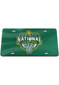 Baylor Bears 2021 National Champions Car Accessory License Plate