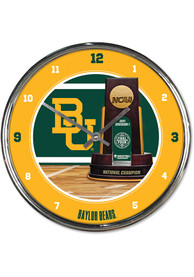 Baylor Bears 2021 National Champions Wall Clock