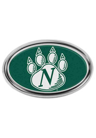 Northwest Missouri State Bearcats Domed Oval Car Emblem - Green