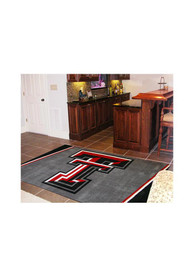 TTech Red Raiders 4x6 Interior Rug
