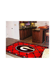 Georgia Bulldogs 4x6 Interior Rug