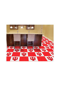 IU Hoosiers 18x18 Team Tiles Interior Rug