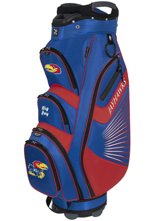 Kansas Jayhawks Bucket Cooler Cart Golf Bag