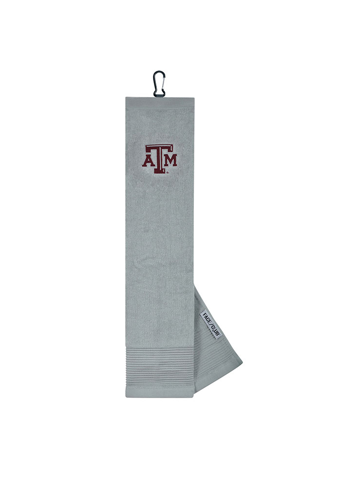 Texas A&M Aggies 16x24 Embroidered Tri-Fold Golf Towel - Image 1