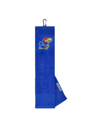 Kansas Jayhawks 16x24 Blue Embroidered Tri-Fold Golf Towel