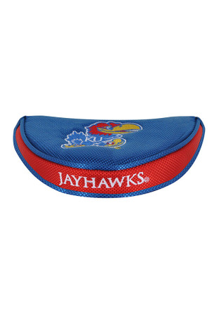 Kansas Jayhawks Mallet Putter Cover