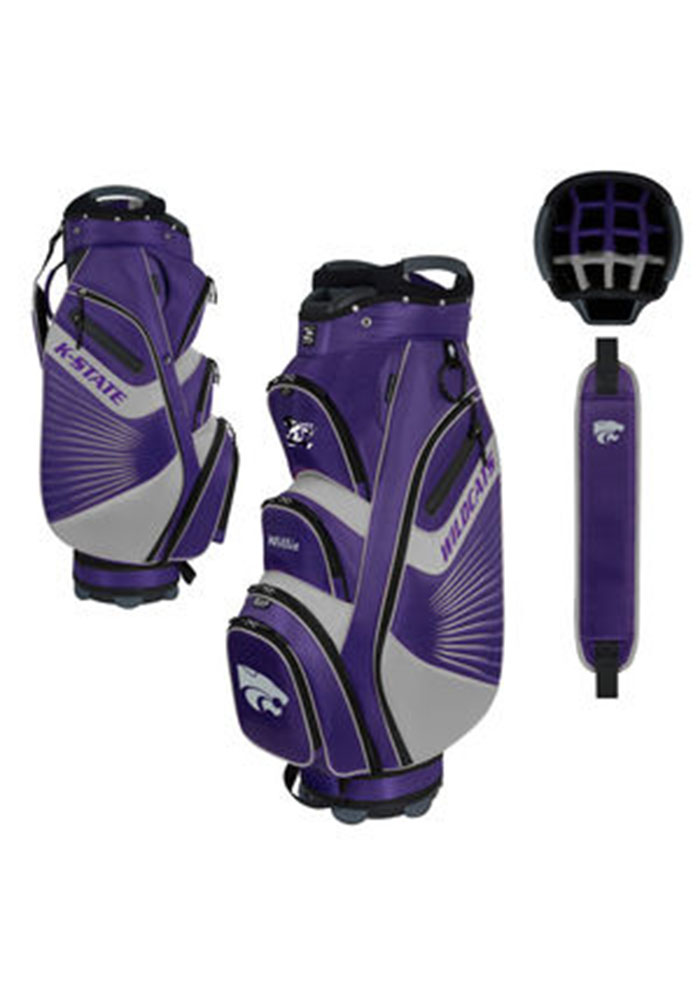 K-State Wildcats 36x13 Golf Bag - Image 1