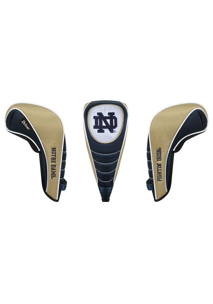 Notre Dame Fighting Irish Shaft Gripper Driver Golf Headcover - Image 1