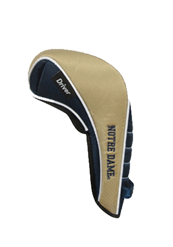 Notre Dame Fighting Irish Shaft Gripper Driver Golf Headcover - Image 2