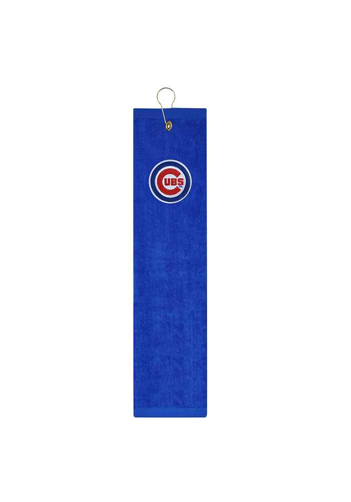 Chicago Cubs Embroidererd Tri-Fold Golf Towel - Image 1