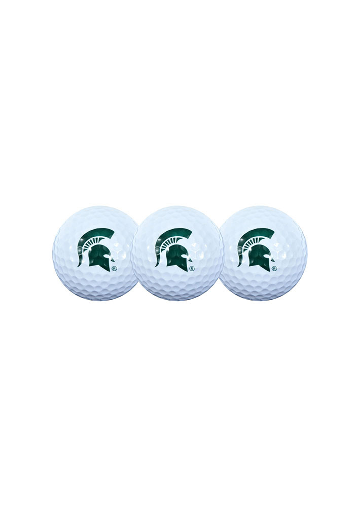 Michigan State Spartans 3-Pack Golf Balls - Image 1