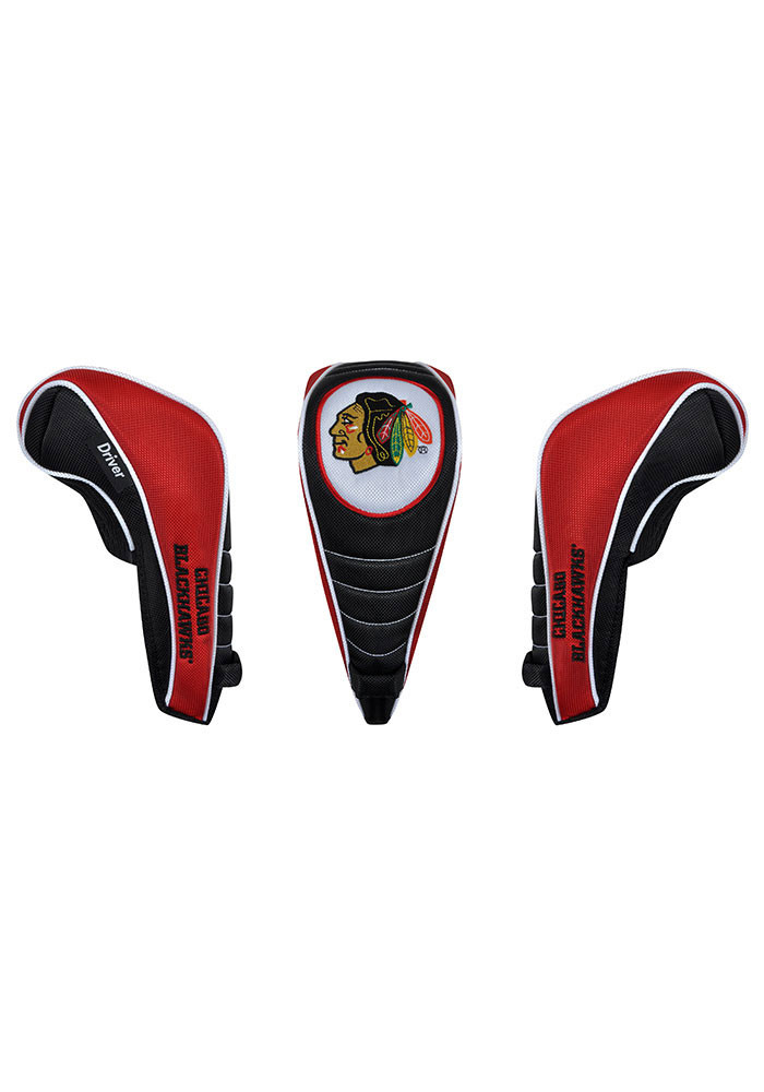 Chicago Blackhawks Shaft Gripper Driver Golf Headcover - Image 1
