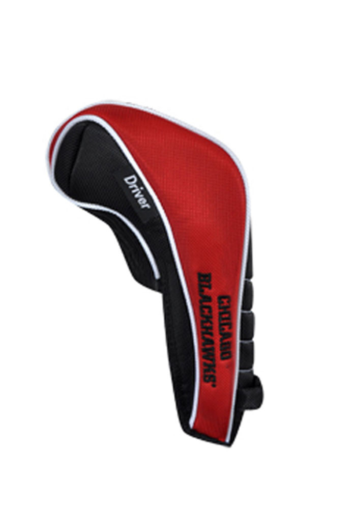 Chicago Blackhawks Shaft Gripper Driver Golf Headcover - Image 2